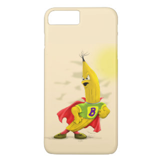 M. BANANA ALIEN  CARTOON Apple iPhone 7 + Barely T iPhone 8 Plus/7 Plus Case
