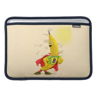 "M.BANANA ALIEN CARTOON Macbook Air 11"" Horizontal Sleeve For MacBook Air"