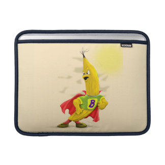 "M.BANANA ALIEN CARTOON Macbook Air 13"" Horizontal MacBook Sleeve"
