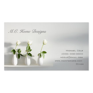 M C Home Designs Business Cards