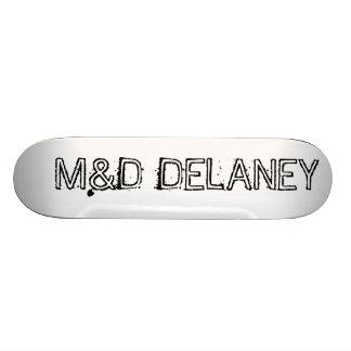 M&D Bare Wood Delaney 20.6 Cm Skateboard Deck