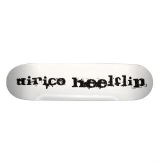 M D Dirico Heelflip Wood Skate Board Deck