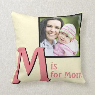 M for Mom Cushion