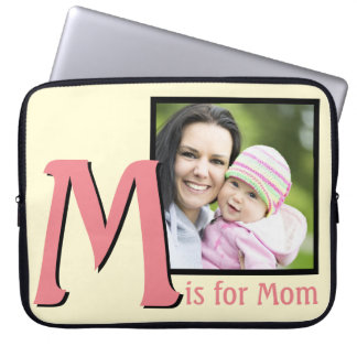 M for Mom Laptop Sleeve