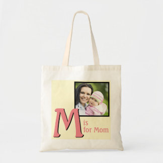 M for Mom Tote Bag