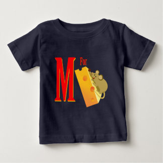 M For Mouse Baby T-Shirt