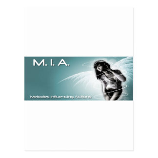 M I A Blue Angel Post Cards