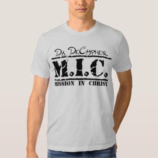 M.I.C. (Black/Silver) T-Shirt