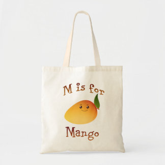 M is for Mango Tote Bag