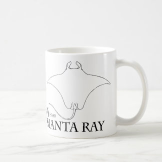 M is for Manta Ray mug