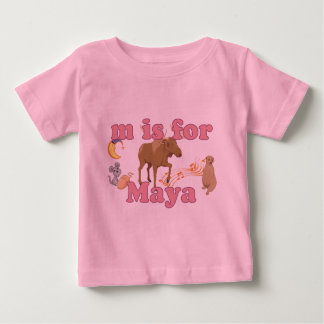 M is for Maya Baby T-Shirt