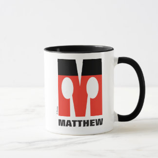 M is for Mickey | Add Your Name Mug