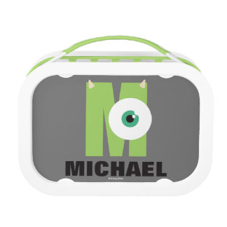 M is for Mike | Add Your Name Lunch Box