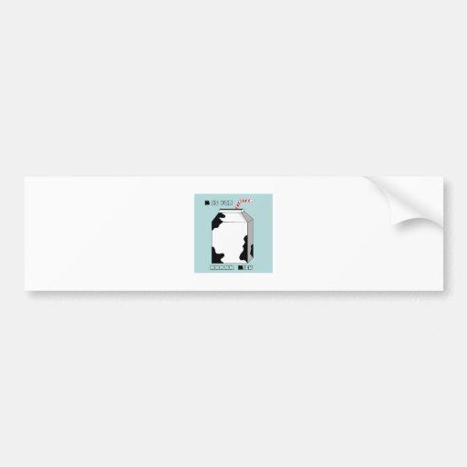 M Is For Milk Bumper Sticker