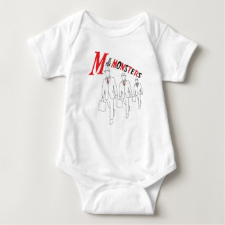 M is for Monsters Baby Bodysuit