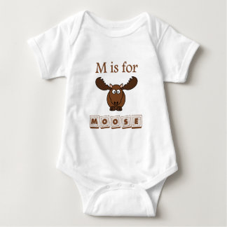 M Is For Moose Baby Bodysuit