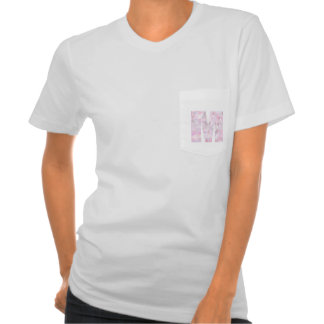 M - Low Poly Triangles - Neutral Pink Purple Gray Tees