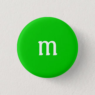 M Monogram Button