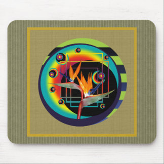 M Pad | Bird of Paradise Flower Orb Mouse Pad