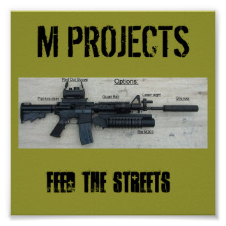 M PROJECTS POSTER