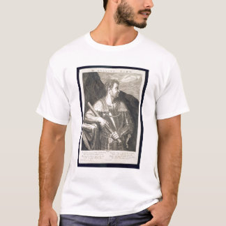 M. Silvius Otho Emperor of Rome 68 AD engraved by T-Shirt
