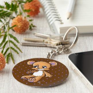 M Teddy Key Chain