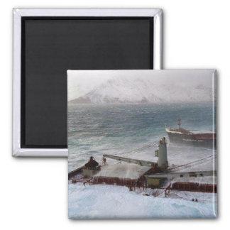 M/V Selendang Ayu Oil Spill Unalaska 2004 Refrigerator Magnets