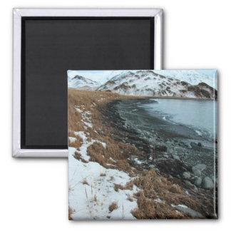 M/V Selendang Ayu Oil Spill Unalaska 2004 Square Magnet