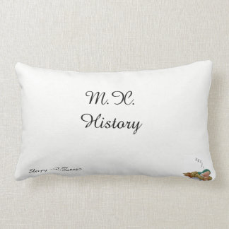 M.X. History Pillows (Sleepy)
