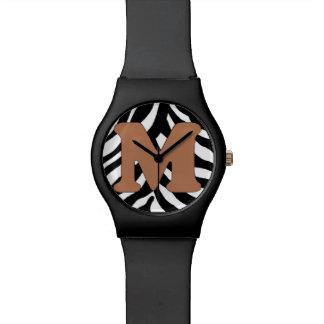 M-Zebra Fashion Watch