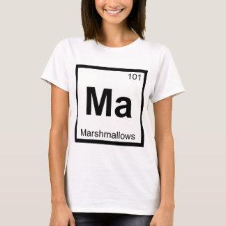 Ma - Marshmallows Chemistry Periodic Table Symbol T-Shirt