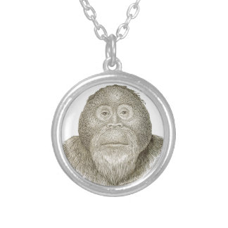 Ma Pa - THE BABOON COUPLE Personalized Necklace