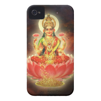 Maa Maha Lakshmi Devi Laxmi Goddess of Wealth Case-Mate iPhone 4 Case