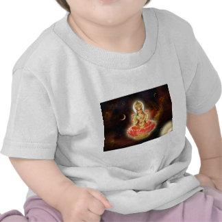 Maa Maha Lakshmi Devi Laxmi Goddess of Wealth T Shirts