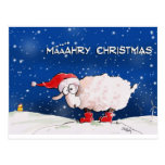 Määähry Christmas Postkarten