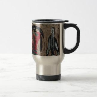 Ma'am and beast mugs