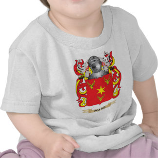 Maas Coat of Arms Family Crest Shirts