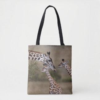 Maasai Giraffe (Giraffe Tippelskirchi) Tote Bag