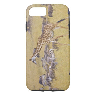 Maasai Giraffes roaming across the Maasai Mara 2 iPhone 8/7 Case