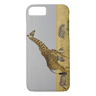 Maasai Giraffes roaming across the Maasai Mara 3 iPhone 8/7 Case