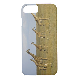 Maasai Giraffes roaming across the Maasai Mara iPhone 8/7 Case