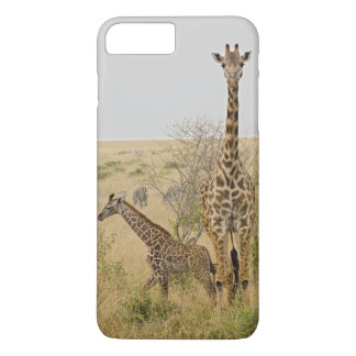 Maasai Giraffes roaming across the Maasai Mara iPhone 8 Plus/7 Plus Case