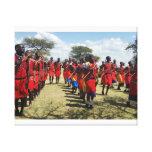 Maasai Youth canvas print