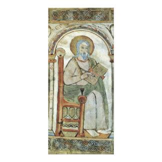 Maaseik Gospel Book Evangelist By Meister Der Schu Full Color Rack Card