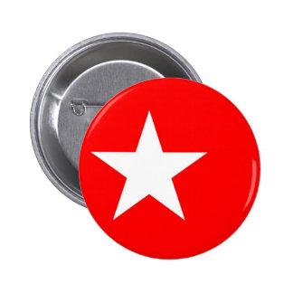 Maastricht city flag netherlands star 6 cm round badge