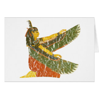 Maat kneeling card