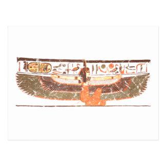 Maat- Nefertari tomb Postcard