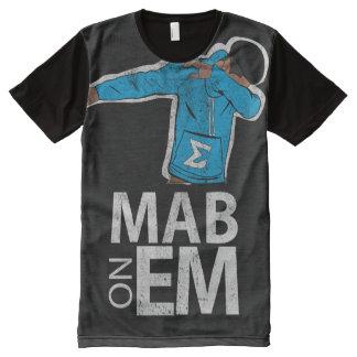 MAB ON EM Shirt (Black) All-Over Print T-Shirt