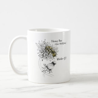 MABA coffee mug with worker bee & logo