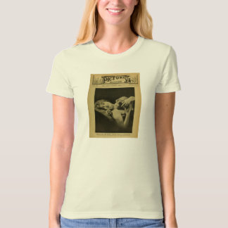Mabel Normand 1915 Leopard silent movie Tee Shirts